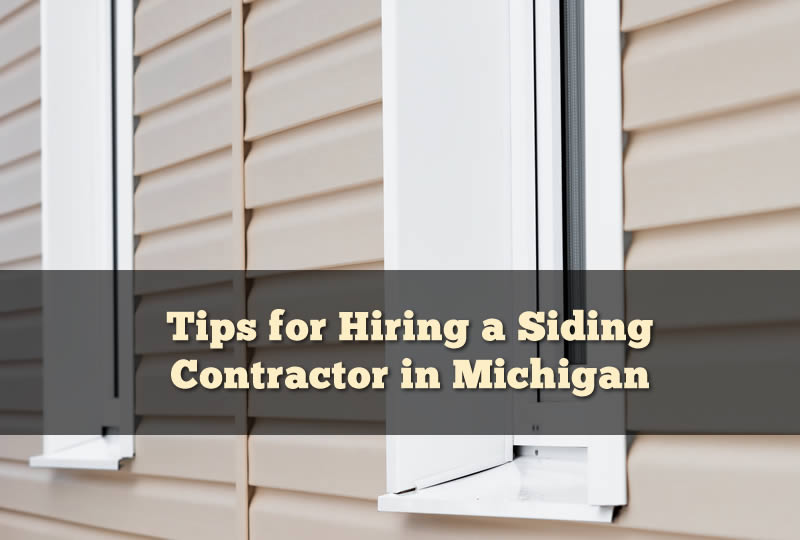 Michigan Siding Contractors