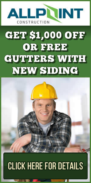 Get $1000 Off With Your New Siding. Click Here for Details