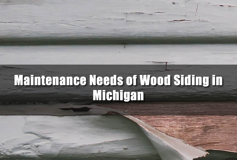 Maintenance Needs of Wood Siding in Michigan