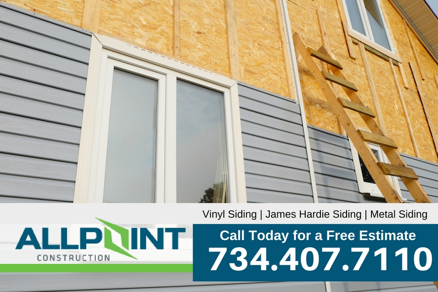 Tips for Installing New Siding in Allen Park Michigan