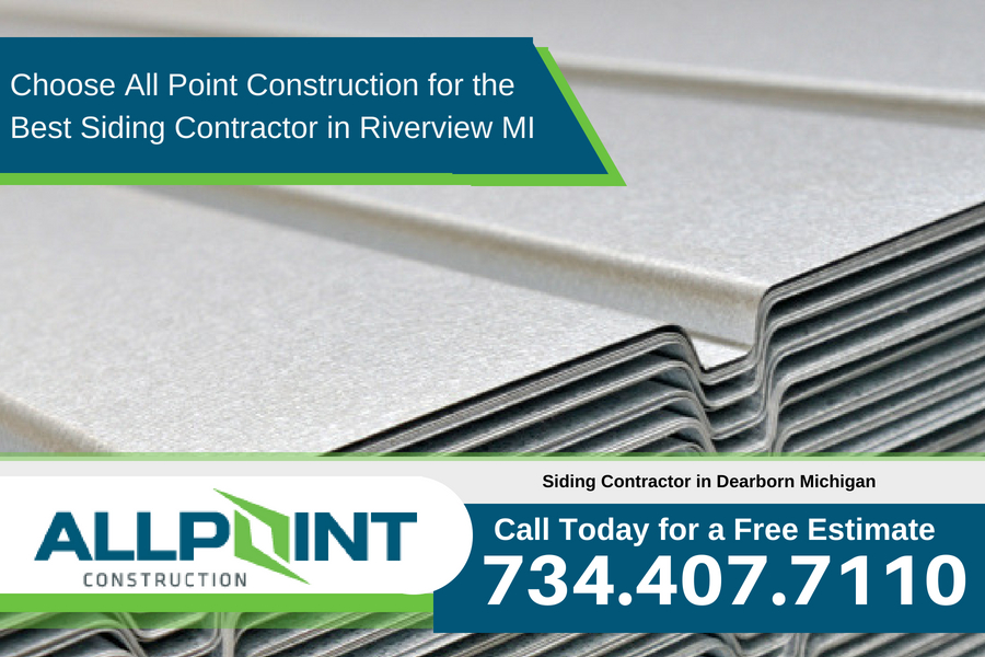 Choose All Point Construction for the Best Siding Contractor in Riverview Michigan
