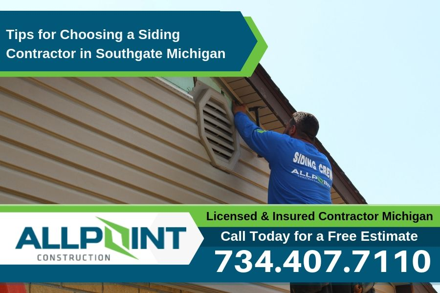 Tips for Choosing a Siding Contractor in Southgate Michigan