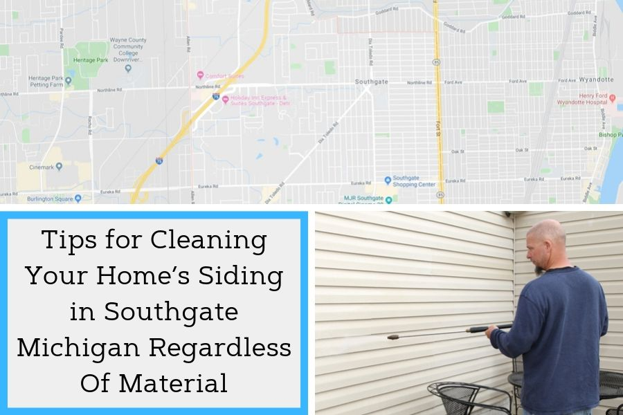 Tips for Cleaning Your Home's Siding in Southgate Michigan Regardless Of Material