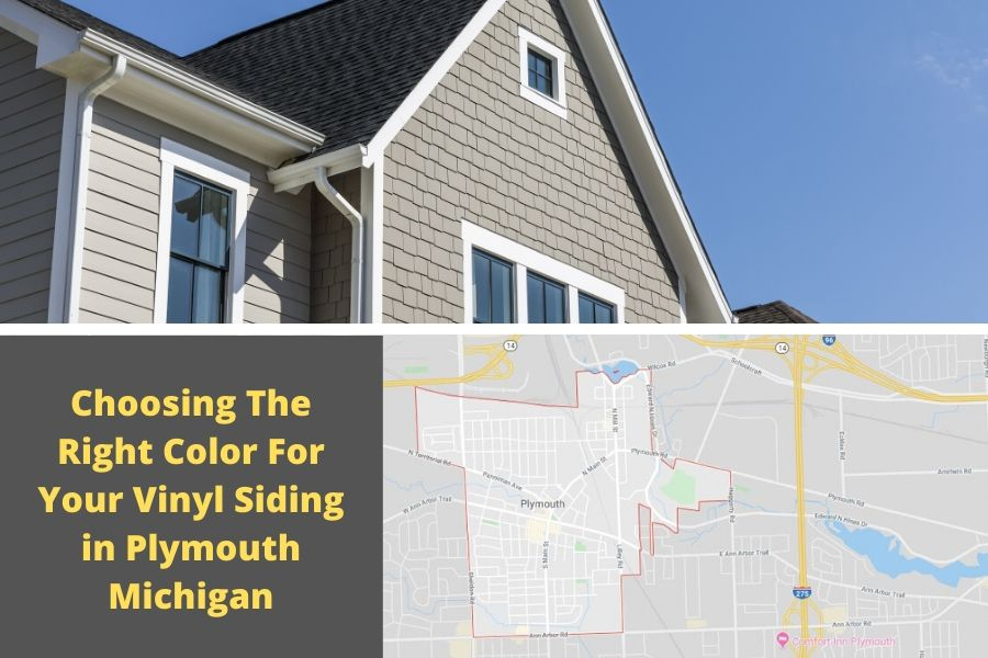 Choosing The Right Color For Your Vinyl Siding in Plymouth Michigan