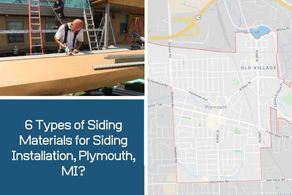 Plymouth MI Siding Contractor