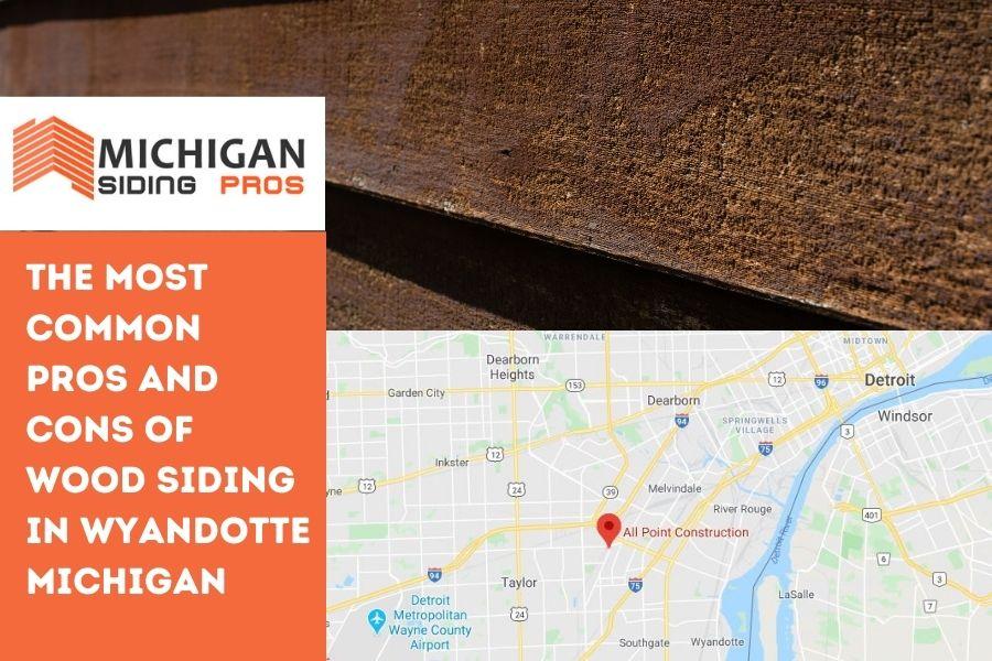 Wood Siding Wyandotte MI