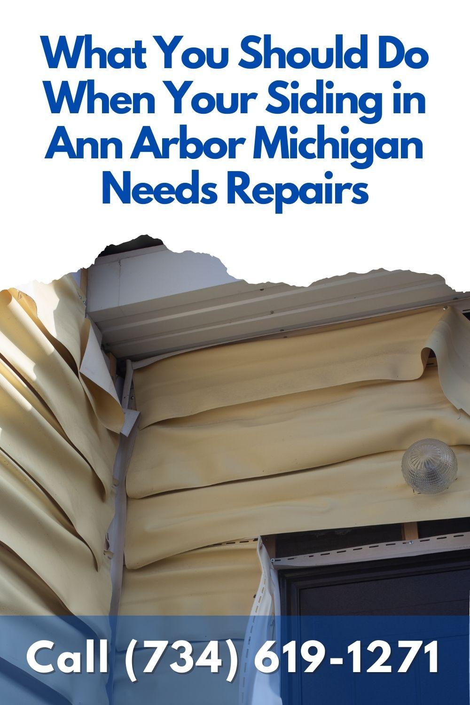 Siding Repair in Ann Arbor Mi